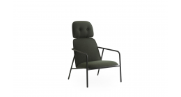 Pad Lounge Chair High Back - Normann Copenhagen Seating
